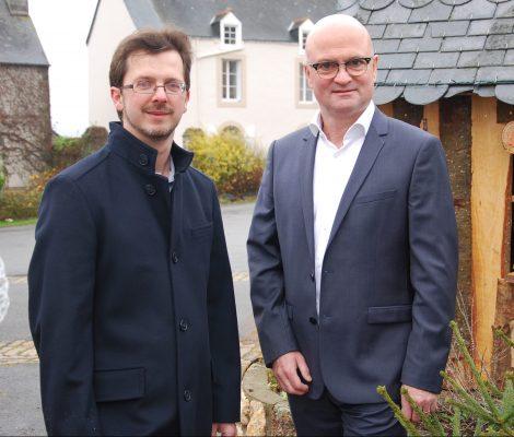 Yohann Morisot - Maire délégué de Brain-sur-Vilaine Dominique julaud - Maire de La Chapelle-de-Brain