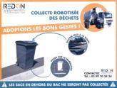 Distributions des bacs d'ordures ménagères et de recyclage