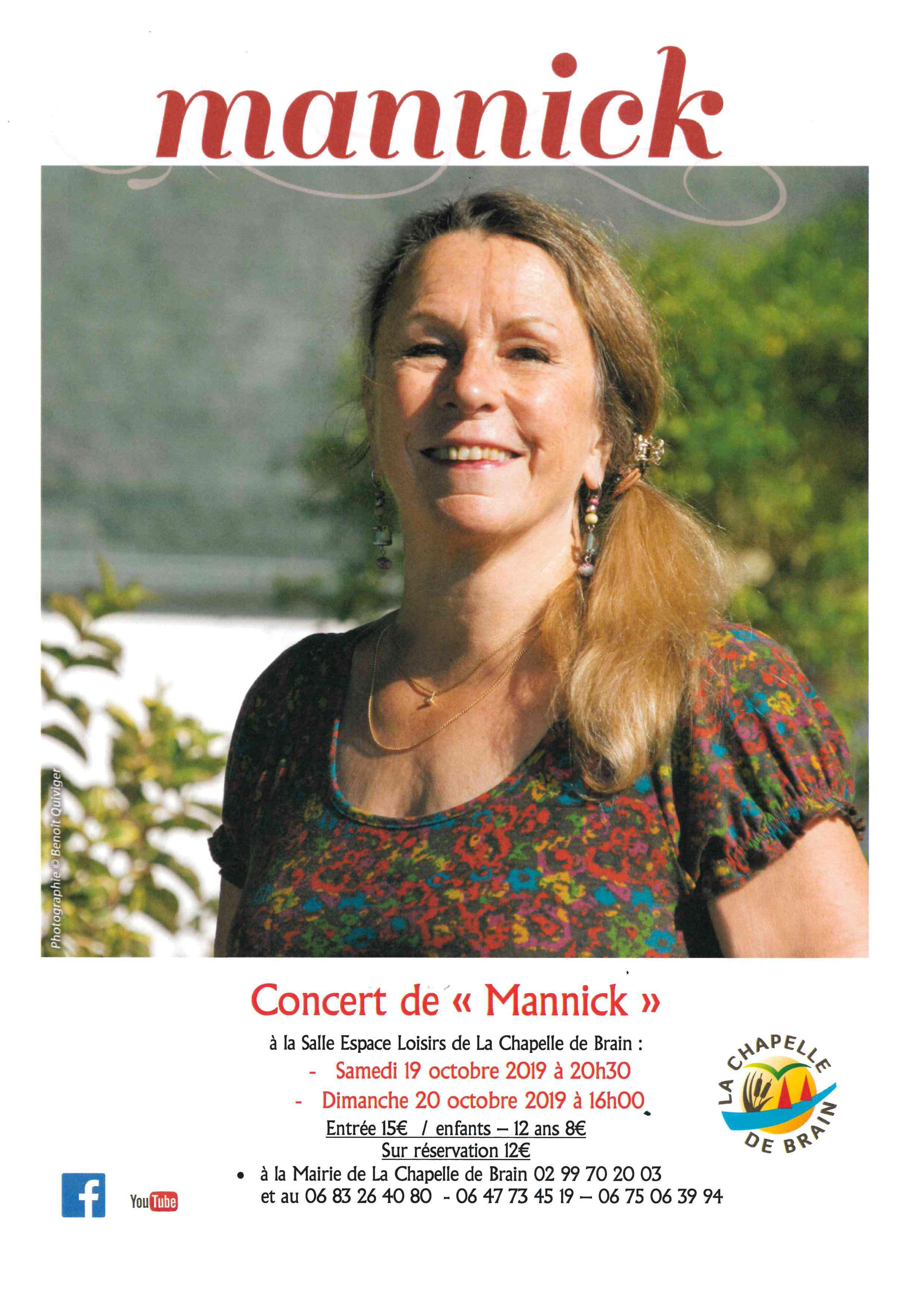 Concert de Mannick ...