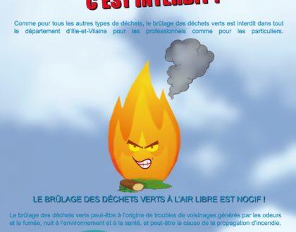 Interdiction de brûlage