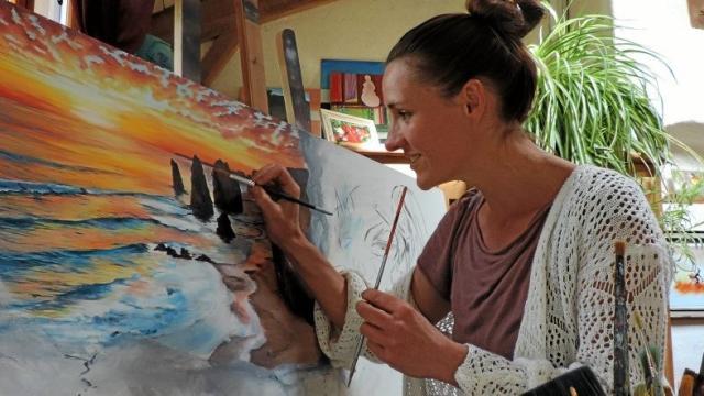 Des ateliers artistiques avec Fanny Moralès