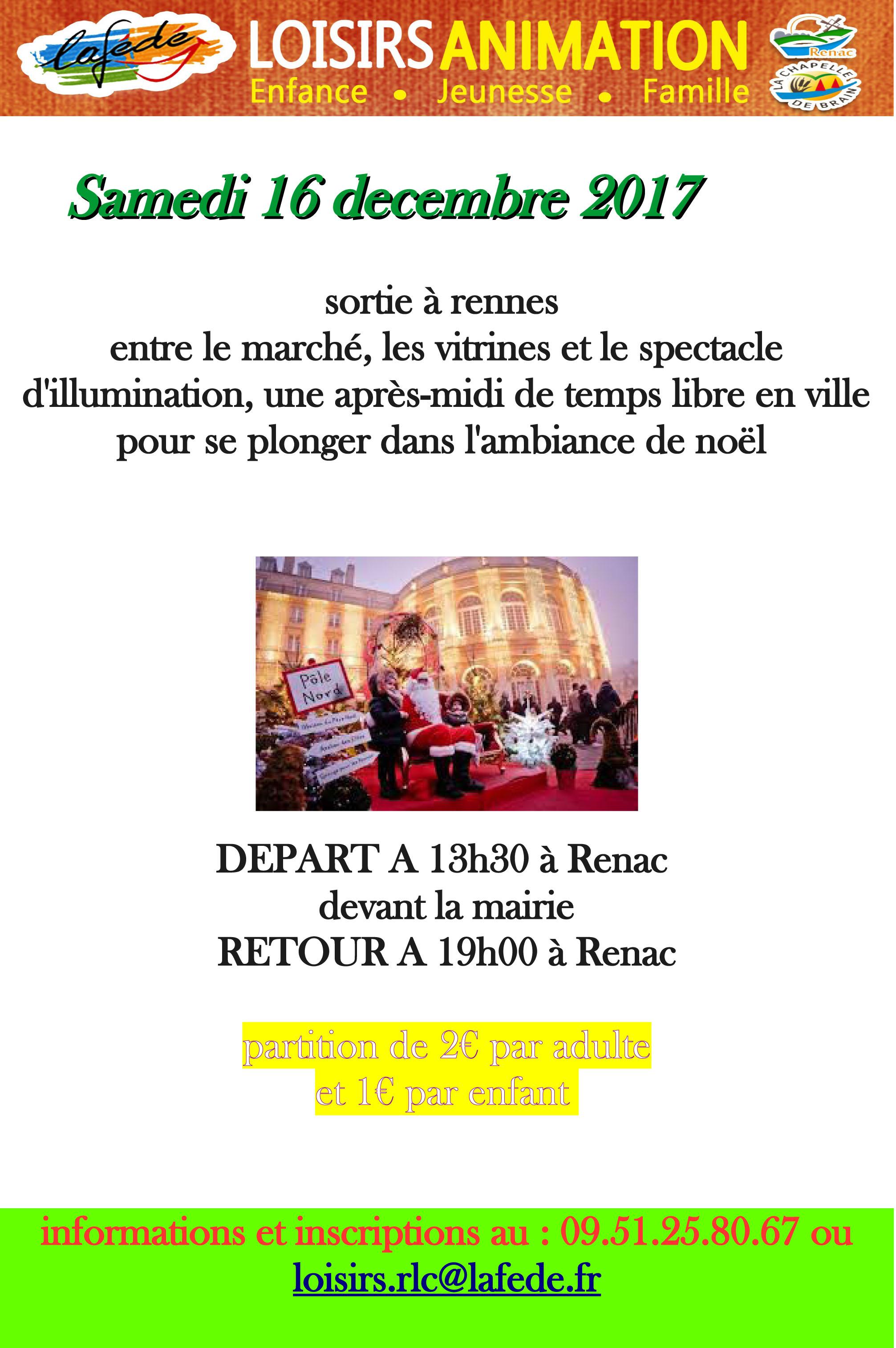 Sortie à Rennes avec la Fédé